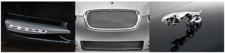 Jaguar XF con frontal Arden