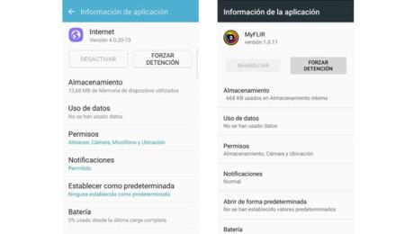 Apps que no se pueden desactivar