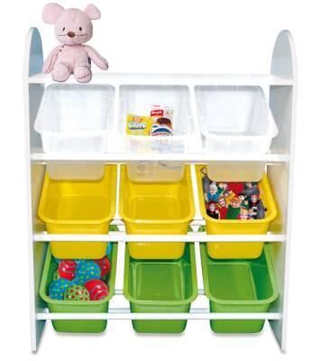 El almacenaje en la habitaci n del beb - Almacenaje para ninos ...