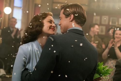 Brad Pitt y Marion Cotillard nos enamoran en 'Aliados'. Una preciosa historia acompañada de un maravilloso vestuario