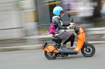 Choi Nori, scooter para el mercado japonés
