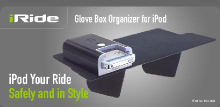 iRide, accesorio para la guantera del coche