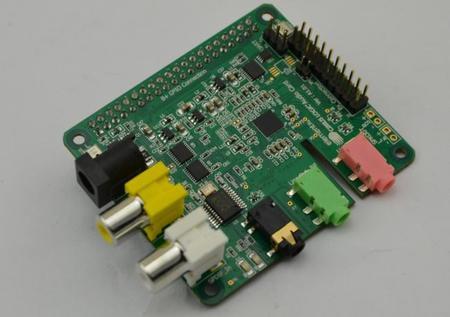 Cirrus Logic Audio Card, nueva tarjeta de sonido para la Raspberry Pi A+ y B+