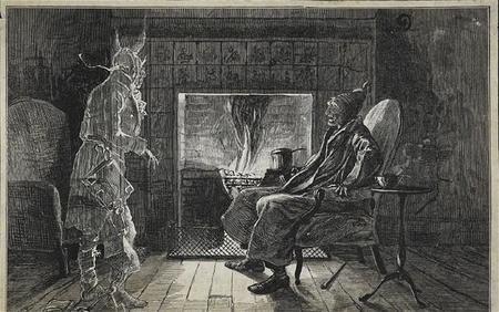 'El guardavías', cuentos de lo sobrenatural de Charles Dickens