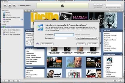 Cuenta iTunes Store
