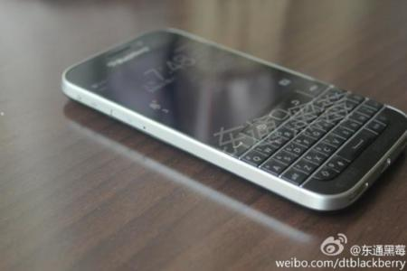 BlackBerry Classic también posa para la cámara