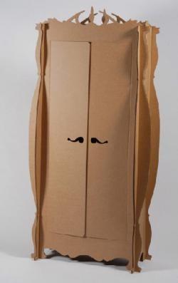 Muebles de cartón
