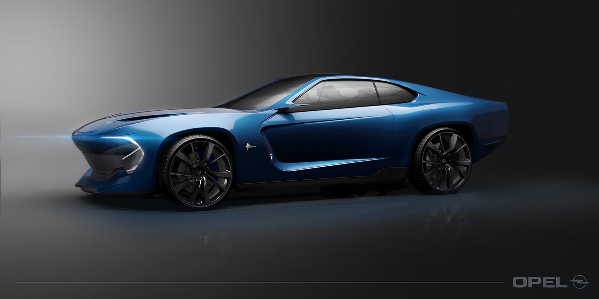 Foto de Opel Manta Concept - Behance (2/8)
