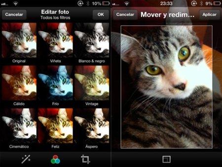 Así son los nuevos filtros de Twitter para imágenes