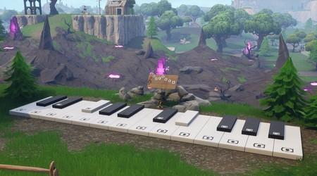 Guía Fortnite: toca la partitura en pianos cerca de Parque Placentero y Soto Solitario [Temporada 7, semana 2]