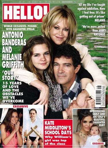 Stella del Carmen debuta en las revistas