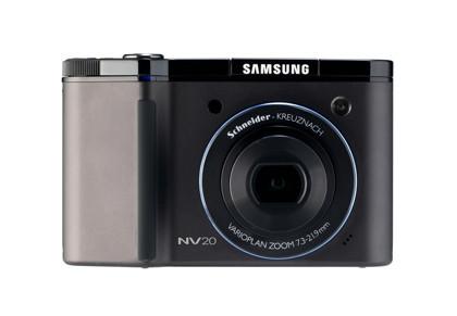 Samsung NV20, con 12 megapíxeles