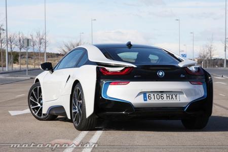 BMW i8 Prueba
