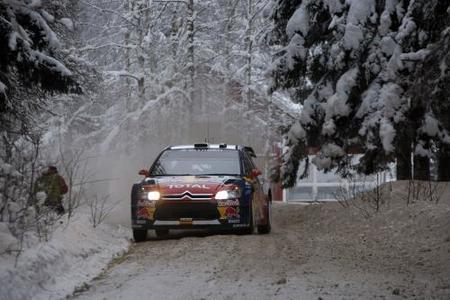 Dani Sordo es el primer líder del Rally de Suecia