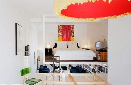 Casas que inspiran: el dormitorio colgante