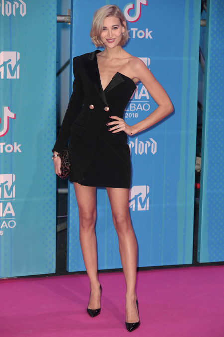 Mandy Bork red carpet mtv ema