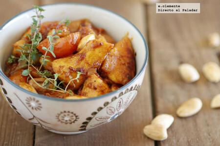 Receta de pollo a la miel con almendras y canela: una exquisita mezcla de sabores especiados