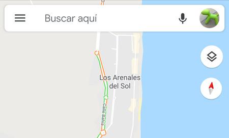 Así es el nuevo gesto para cambiar de cuenta que ha estrenado en Google Maps