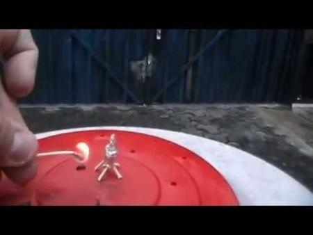 [Vídeo] Constrúyete tu propio cohete con papel de aluminio