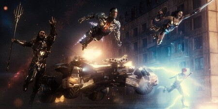 Justice League Charge Into Battle Zack Snyder