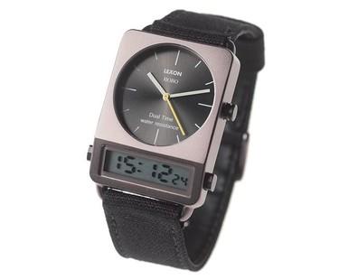 La visión romántica del retrofuturismo: reloj Hobo de Lexon