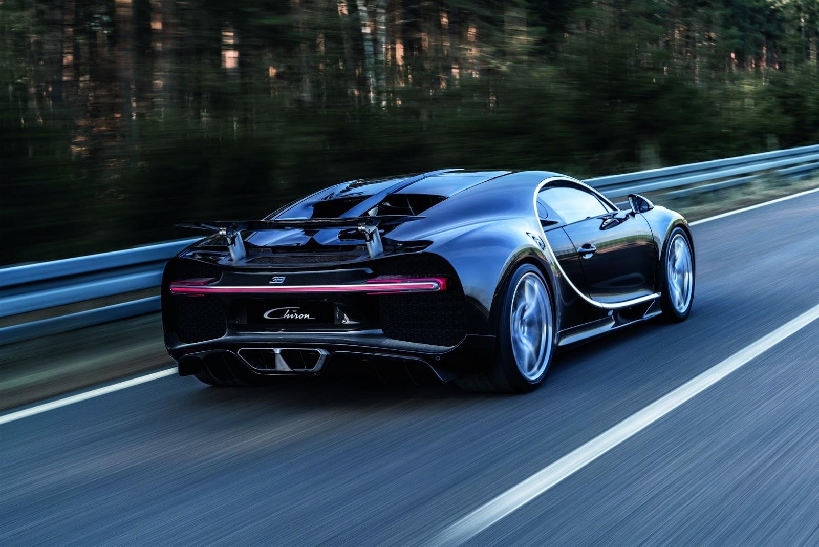 Foto de Bugatti Chiron (40/77)