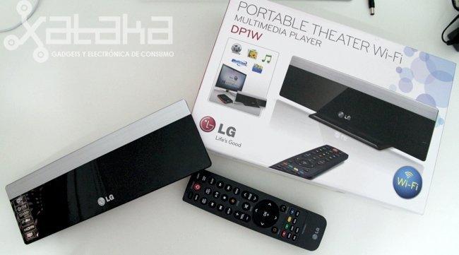 LG DP1 centro multimedia