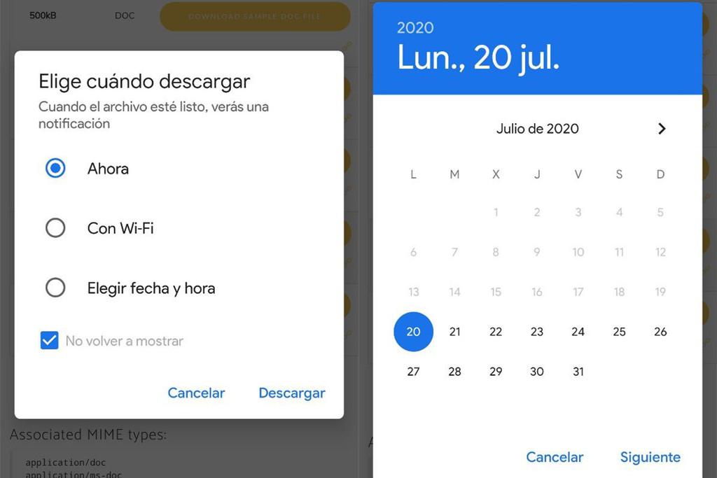 Próximamente en Google Chrome: poder programar una descarga para más tarde o al tener Wi-Fi