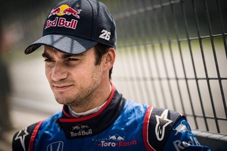 Dani Pedrosa Prueba F1 2018 3