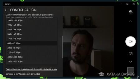 Config Webcam