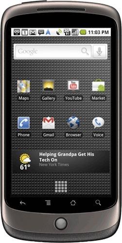 Google Nexus One, presentación oficial