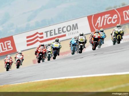 Salida MotoGP Mugello