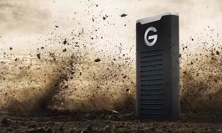 Rebaja bestial en Amazon para el SSD resistente G-DRIVE Mobile SSD R-Series de 2 TB: Amazon te lo deja casi 200 euros más barato, por 329,99 euros