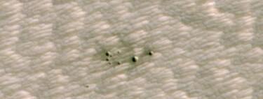 Este es el primer descubrimiento de un cráter en Marte con la ayuda de Inteligencia Artificial