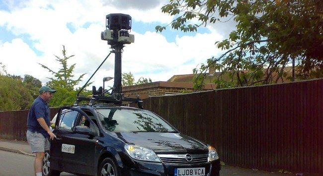 coche google street view