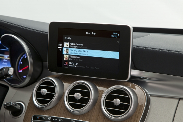 Foto de CarPlay Mercedes Benz Clase C (2/26)