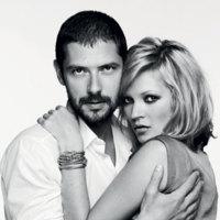 Kate Moss imagen de la firma de joyería Fred