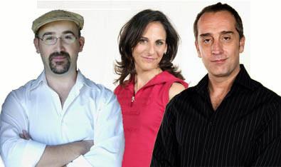 Rodaje de 'La torre de Suso', con Javier Cámara, Gonzalo de Castro y Malena Alterio
