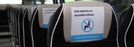 Asiento Autobus No Se Puede Utilizar