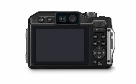 Panasonic Lumix Ft7 Back