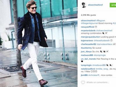 Oliver Cheshire deslumbra en la Semana de la Moda de Londres y aquí tenemos todos los looks que ha llevado