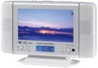 Hitachi DVL-7TV, despertador con TV y DVD