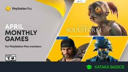 Juegos gratis de PS4 y PS5 en abril 2021 para PlayStation Plus