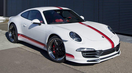 Porsche 911 Carrera S por LUMMA Design