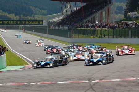 Peugeot vence por delante de todos los gasolina en Spa