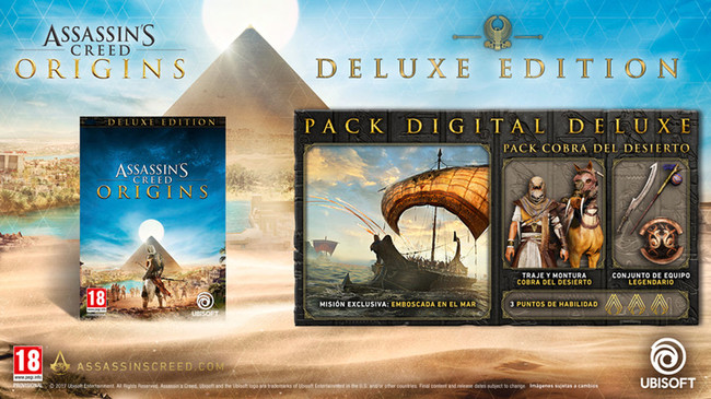 Assassin S Creed Origins Edicion Deluxe