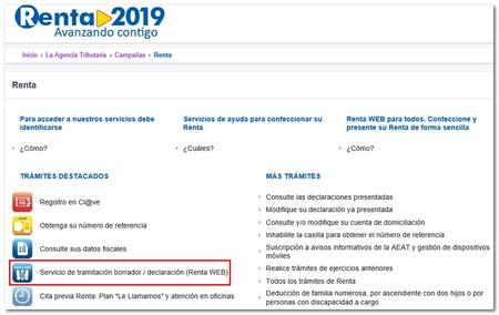 Rentaweb 2019 Portal