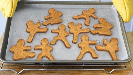 Moldes para galletas con forma de Ninjas