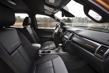 Ford Ranger Wildtrak Interior 7