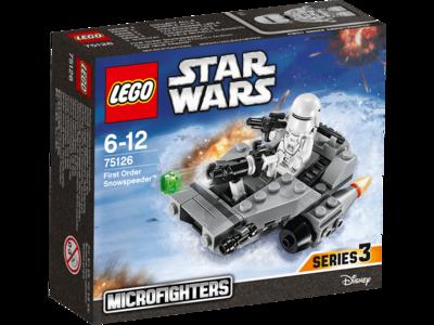 Nave first order snowspeeder de Star Wars Lego por sólo 8,95€ en Zavvi con envío gratis